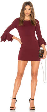 Susana Monaco Handkerchief Sleeve Dress