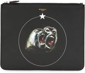 Givenchy Monkey Brothers clutch