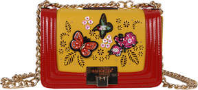 Nicole Lee Visola Butterfly Embroidered Small Cross Body Bag (Women's)