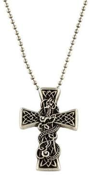 Chrome Hearts Cross Pendant Necklace