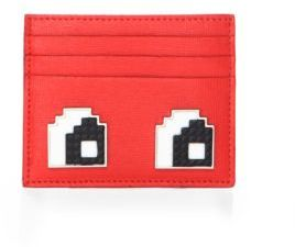 Les Petits Joueurs Open Eyes Leather Card Case