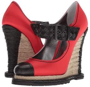 Bottega Veneta Buckle Wedge Women's Wedge Shoes