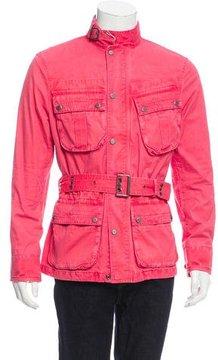 Ralph Lauren Black Label Mock Neck Utility Jacket w/ Tags