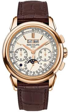 Patek Philippe Grand Complications Silver Dial 18K Rose Gold Men's Watch