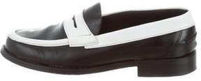 J.W.Anderson Leather Colorblock Loafers