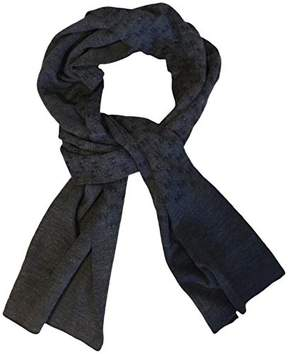 Michael Kors Repeat Logo Jacquard Scarf, Grey/Blue