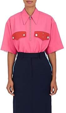 Calvin Klein Women's Policeman Collared Piqué Shirt