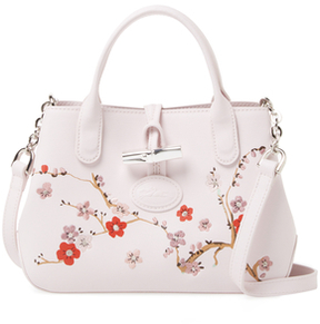 Longchamp Embroidered Crossbody Bag - PINKY - STYLE