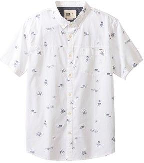 Reef Men's Skipadot Short Sleeve Shirt 8129132