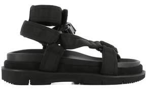 Maison Margiela Men's Black Fabric Sandals.