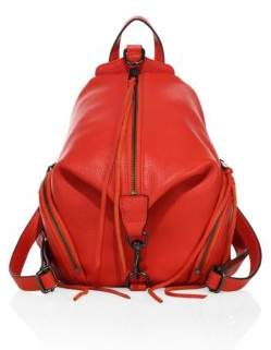 Rebecca Minkoff Medium Julian Leather Mini Backpack - PUTTY - STYLE