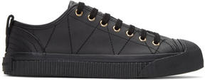 Burberry Black Kilbourne Sneakers