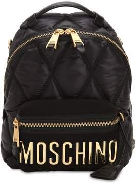 Moschino Medium Nylon Backpack