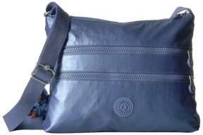 Kipling Alvar Crossbody Bag Cross Body Handbags - METALLIC SCUBA DIVER BLUE - STYLE