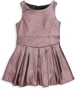 Milly Minis Toddler's, Little Girl's & Girl's Metallic Scoopneck Dress