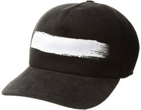 Neil Barrett Brush Stroke Baseball Cap Caps