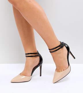 Asos PRIMROSE Wide Fit Pointed Heels