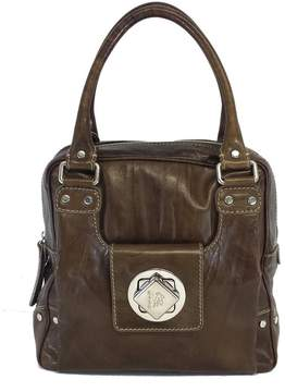Etro Brown Box-Shaped Leather Bag
