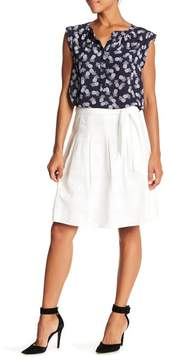 Nine West Lily Belted Eyelet Lace Skirt
