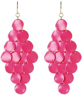 Amrita Singh Hot Pink Mercer Street Drop Earrings