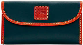 Dooney & Bourke Wexford Leather Continental Clutch - BLACK - STYLE