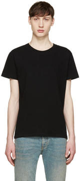 Saint Laurent Black Destroyed T-Shirt