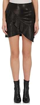 IRO Women's Oyama Leather Miniskirt