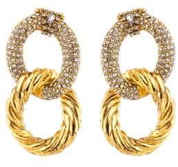 Erickson Beamon Linked In Earrings