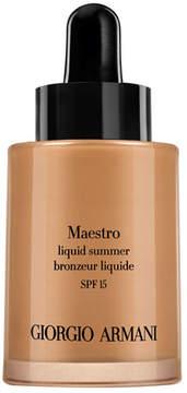 Giorgio Armani Maestro Liquid Summer Bronzer SPF 15