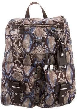 Tumi Printed Nylon Backpack