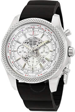 Breitling Bentley B05 Unitime World Time Chronograph Automatic White Dial Men's Watch