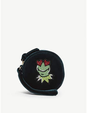 Sandro The Muppet Show velvet purse