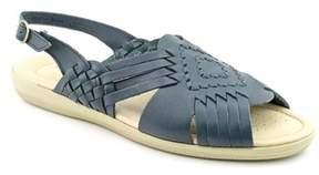 Softspots Tela Open-toe Leather Slingback Sandal.