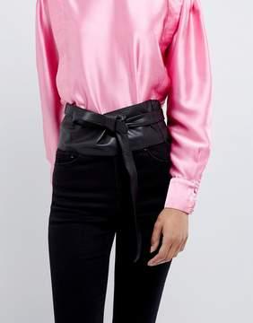 Asos Leather Obi Waist Belt