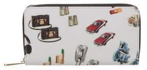 Louis Vuitton 2015 Monogram Vernis Stickers Zippy Wallet - WHITE - STYLE