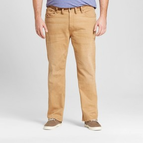 Mossimo Men's Big & Tall Straight Jeans Khaki