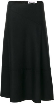 Jil Sander full midi skirt