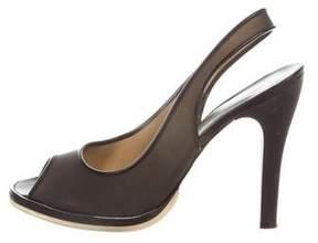 Rochas PVC Slingback Sandals