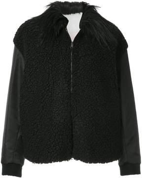 Giamba fur collared shearling jacket