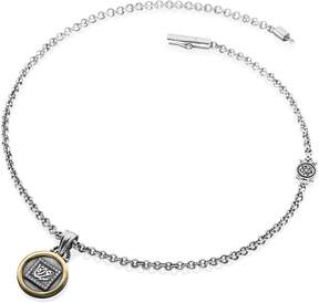 Azza Fahmy Happiness Disc Charm Necklace