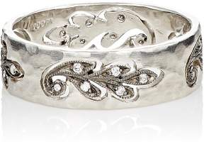 Cathy Waterman Women's Cutout-Paisley-Leaf Band