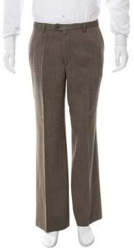 Dries Van Noten Herringbone Cropped Pants