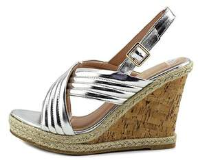 Callisto Womens Puff Open Toe Casual Platform Sandals.