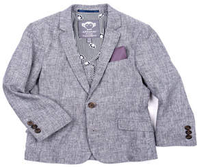 Appaman Boys' Cotton-Stretch Blazer, Red, Size 2-14