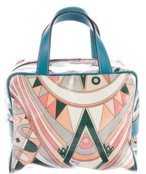 Emilio Pucci Coated Canvas Handle Bag
