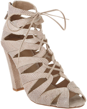 Delman Darci Leather Sandal