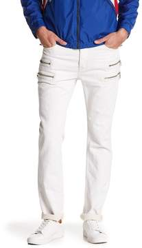 Hudson Broderick Zip Slouchy Skinny Jeans