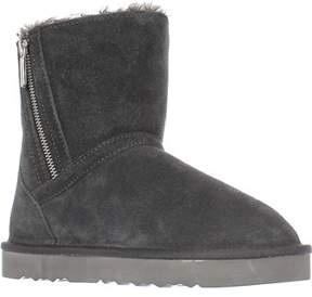 Style&Co. Sc35 Ciley Sherling Lined Mid-calf Winter Boots, Grey.