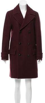 Christian Dior Double-Breasted Wool Coat