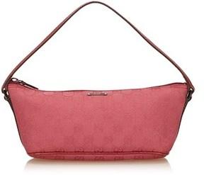 Gucci Pre-owned: Guccissima Jacquard Handbag. - PINK - STYLE